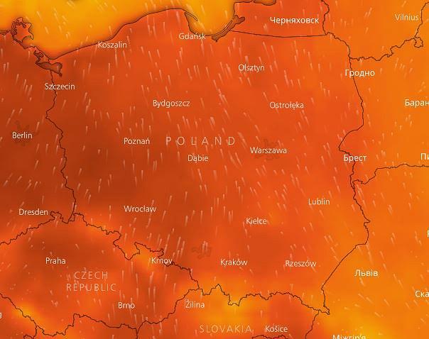 Temperatury w środę osiągną nawet trzydzieści kilka stopni