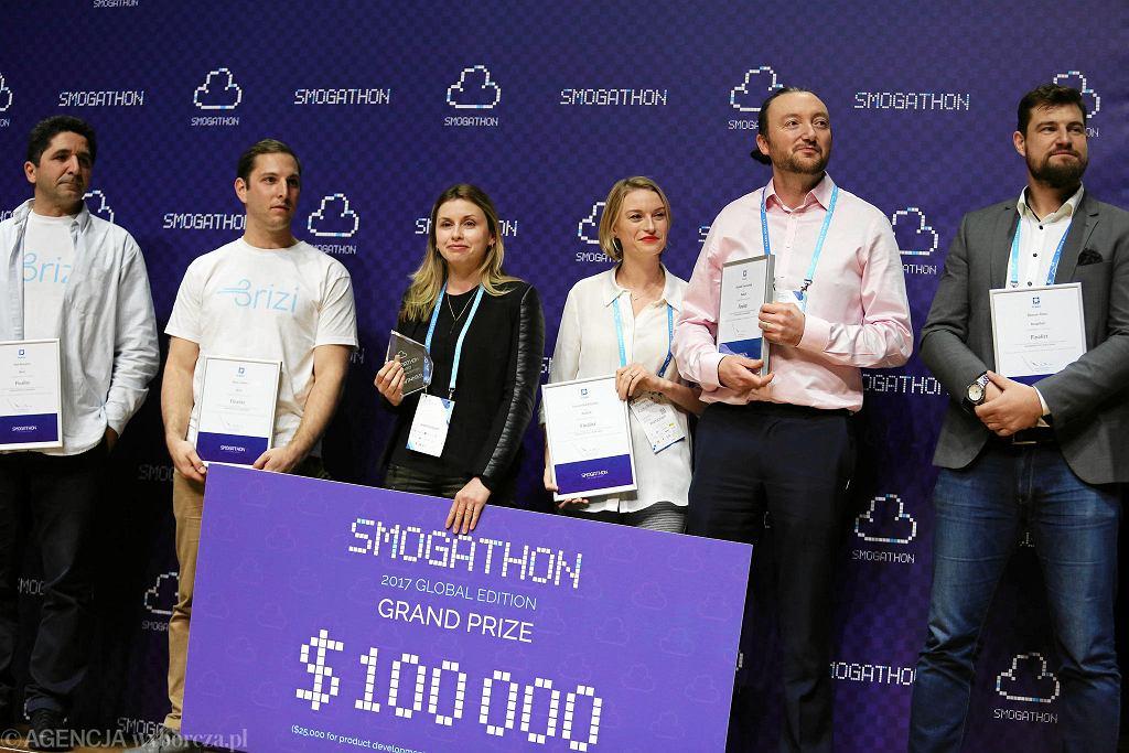 Finaliści i zwycięzca Smogathonu