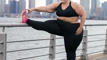 Czy modelka plus size nie może reklamować sportowych ubrań?