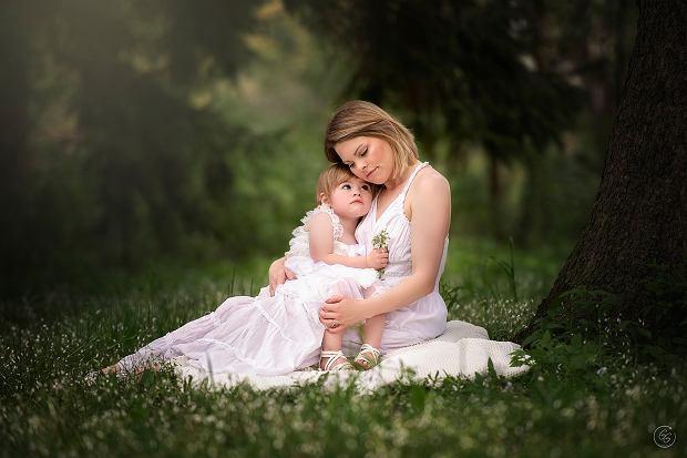 Lauren z córką
