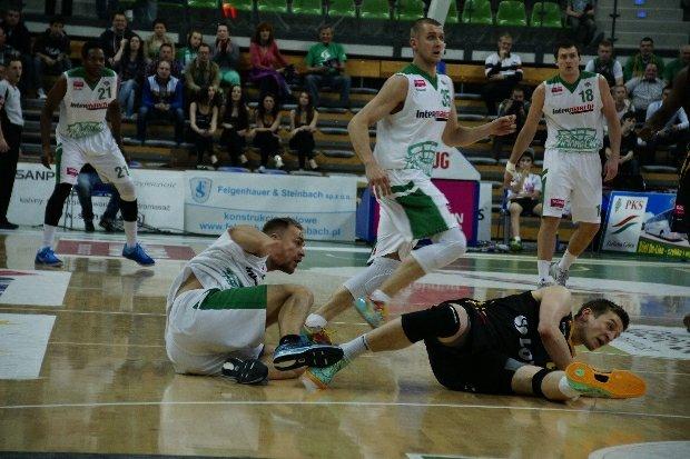 Mecz Stelmetu Zielona Góra z Treflem Sopot
