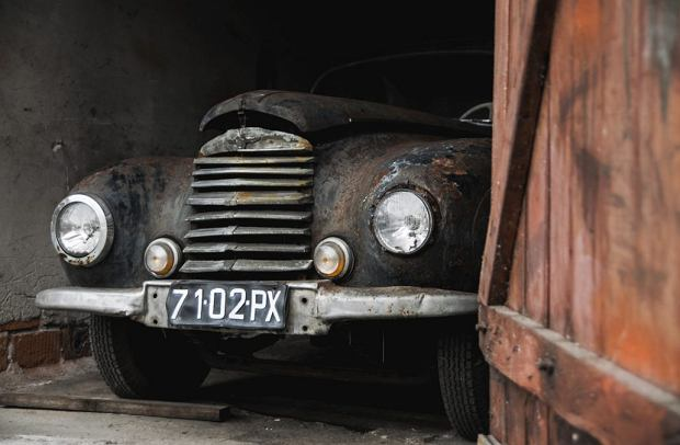 Sunbeam talbot 80 z końcówki lat 40. znaleziony w polskiej szopie. Ocalało ich tylko 140