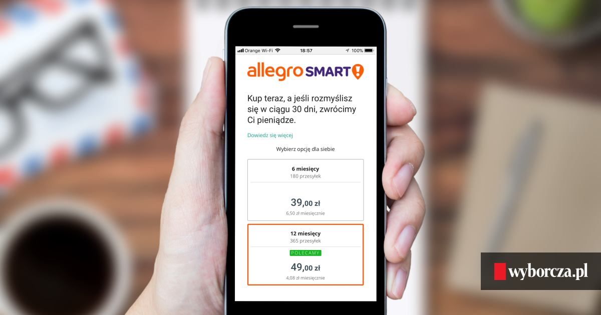 Allegro Jednym Ruchem Zmienia Caly Rynek Przesylek Internetowych 365 Paczek Za 49 Zl