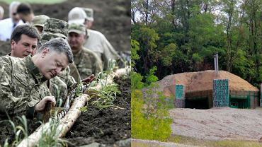 Fortyfikacje na granicy Ukrainy i Rosji