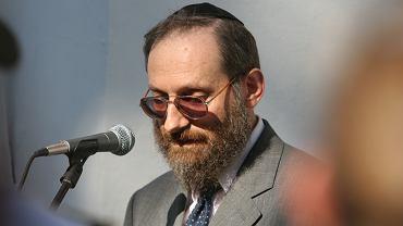 Filozof Stanisław Krajewski.