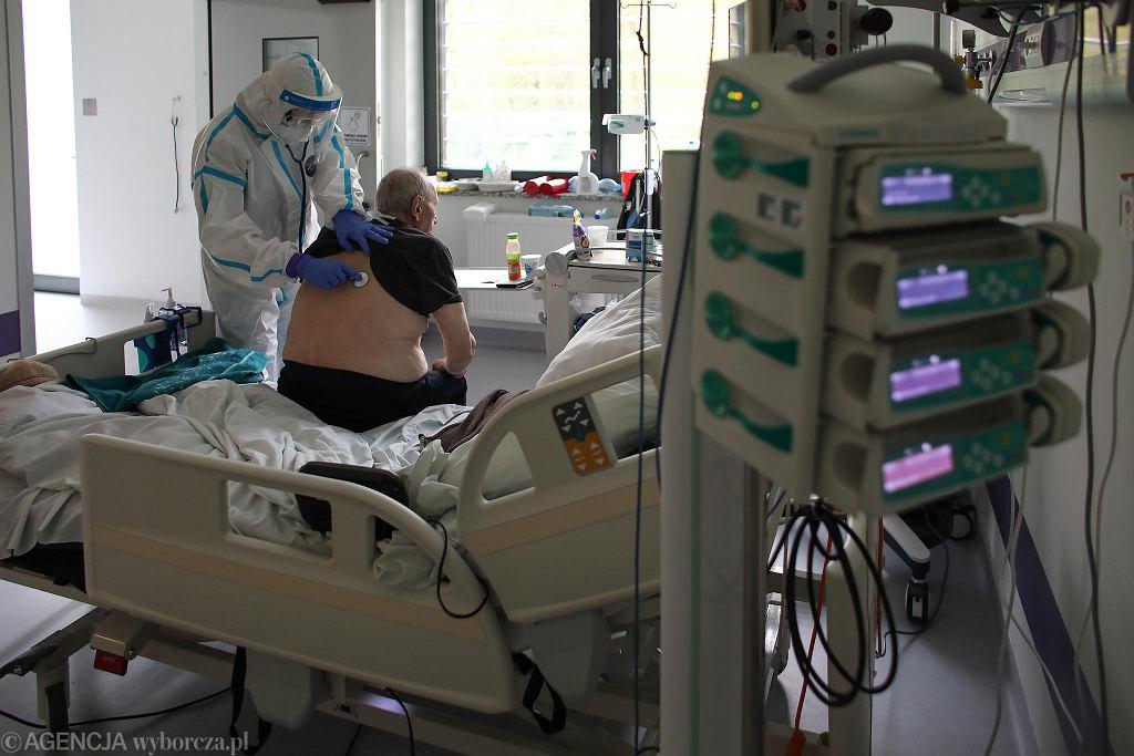Oddział w szpitalu 'covidowym'