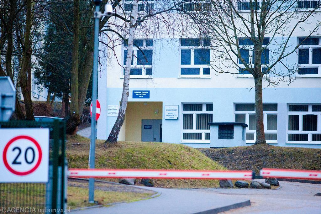 Wojewódzki Szpital Psychiatryczny w Gdańsku. Zdjęcie ilustracyjne