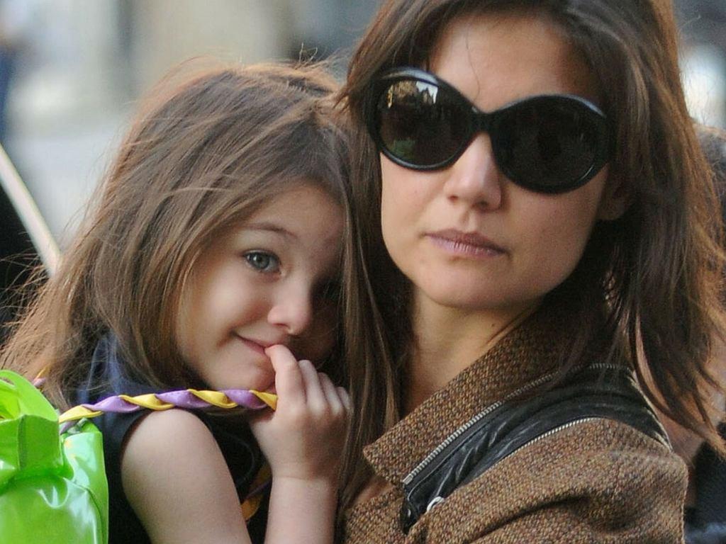 Suri Cruise z mamą Katie Holmes