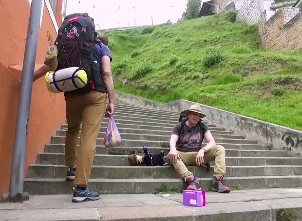Kadr z programu 'Ameryka Express'