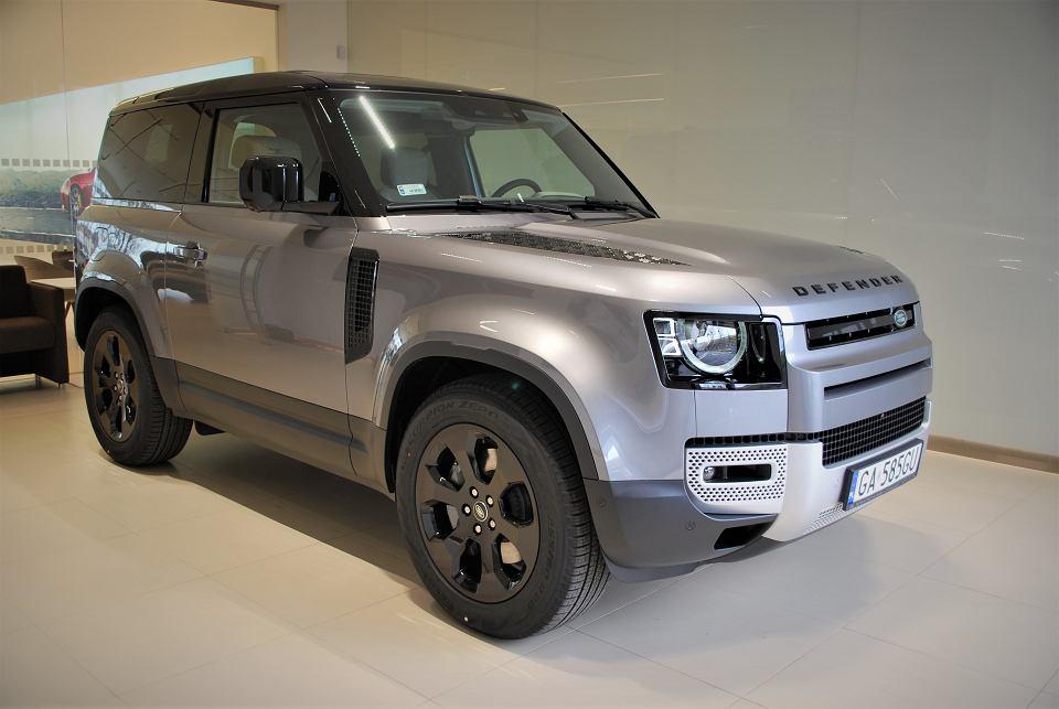 Wydanie Land Rovera Defender 90 w British Automotive Gdańsk