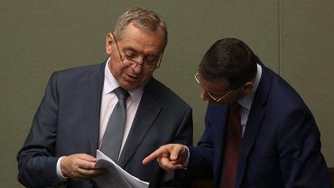 Minister Henryk Kowalczyk i wicepremier Mateusz Morawiecki
