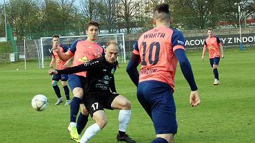 Środa, 5 maja 2021 r. Piłkarska trzecia liga: Warta Gorzów - Lechia Zielona Góra 1:1 (0:1)