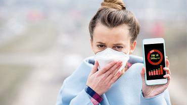 Miernik smogu sprawdzi jakość powietrza w twoim otoczeniu. Większość urządzeń jest połączonych z aplikacjami.