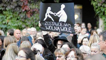 Ogólnopolski Strajk Kobiet, 3 października, Kraków