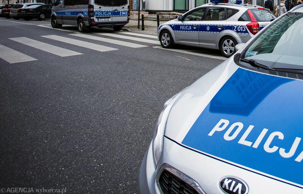 Policja w Warszawie, zdj. ilustracyjne