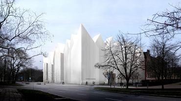 Wizualizacja gmachu nowej Filharmonii Szczecińskiej