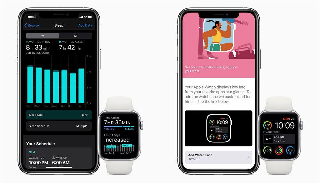 Apple prezentuje nowy watchOS 7