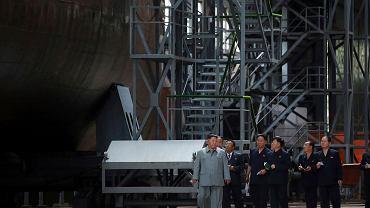 Korea Północna: Kim Dzong Un dokonał inspekcji nowego okrętu podwodnego