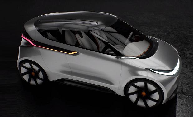 Polski samochód elektryczny - jeden z konkursowych projektów