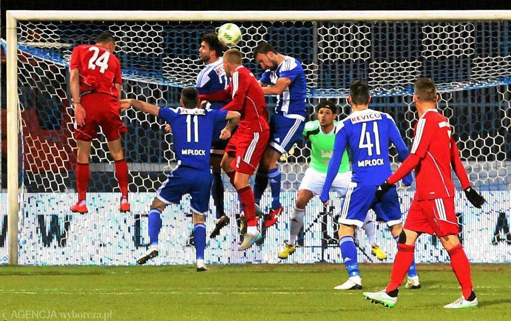 Piłka nożna, I liga. Wisła Płock - Miedź Legnica 2:0