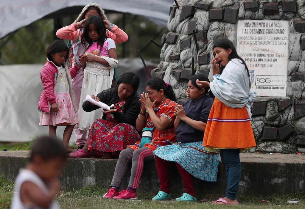 Kolumbia. Członkinie plemienia Embera (zdjęcie ilustracyjne)