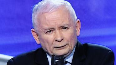Jarosław Kaczyński podczas prezentacji Polskiego Ładu