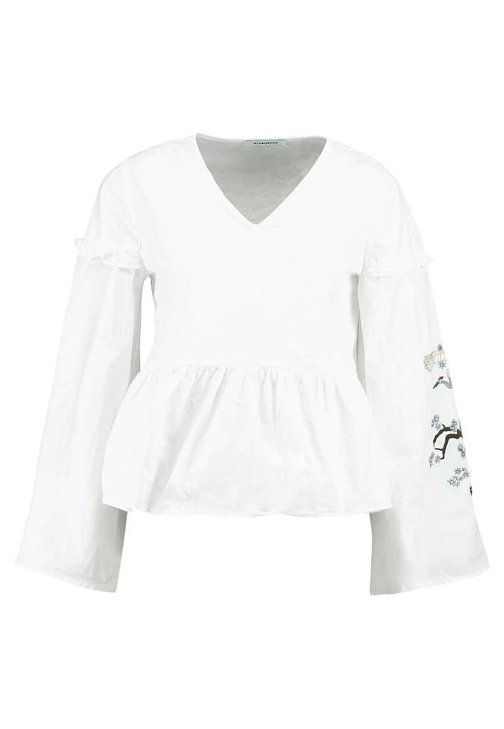 Biała bluzka