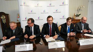 Konferencja prasowa dotycząca projektu Tele-Anioł.