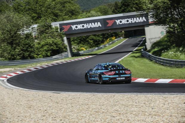 Porsche Taycan bije rekord toru Nurburgring