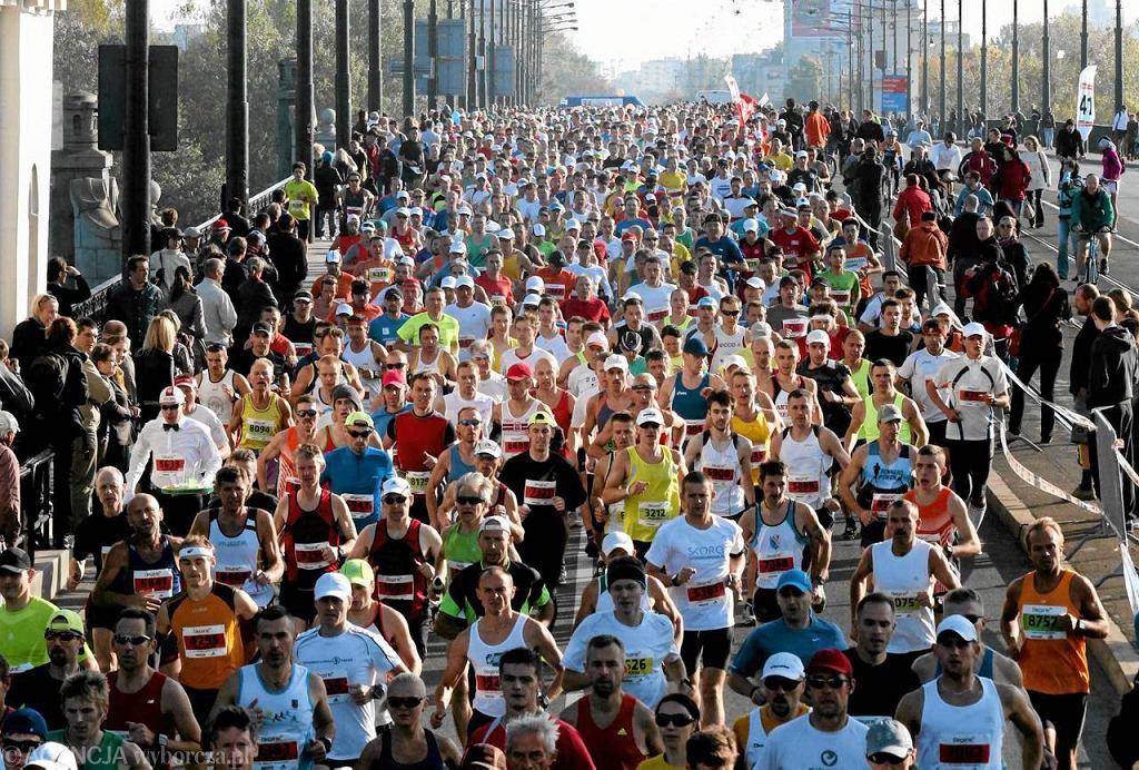 34. Maraton Warszawski wygrał Kenijczyk James Mutua z czasem 2:15:02