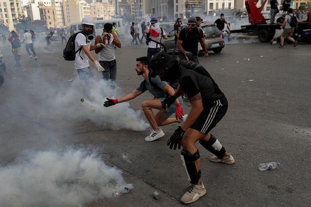 Protesty w Libanie