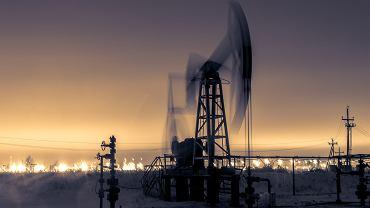 Wydobycie ropy naftowej na Syberii.