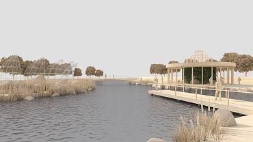 Projekt zagospodarowania parku w Muszynie
