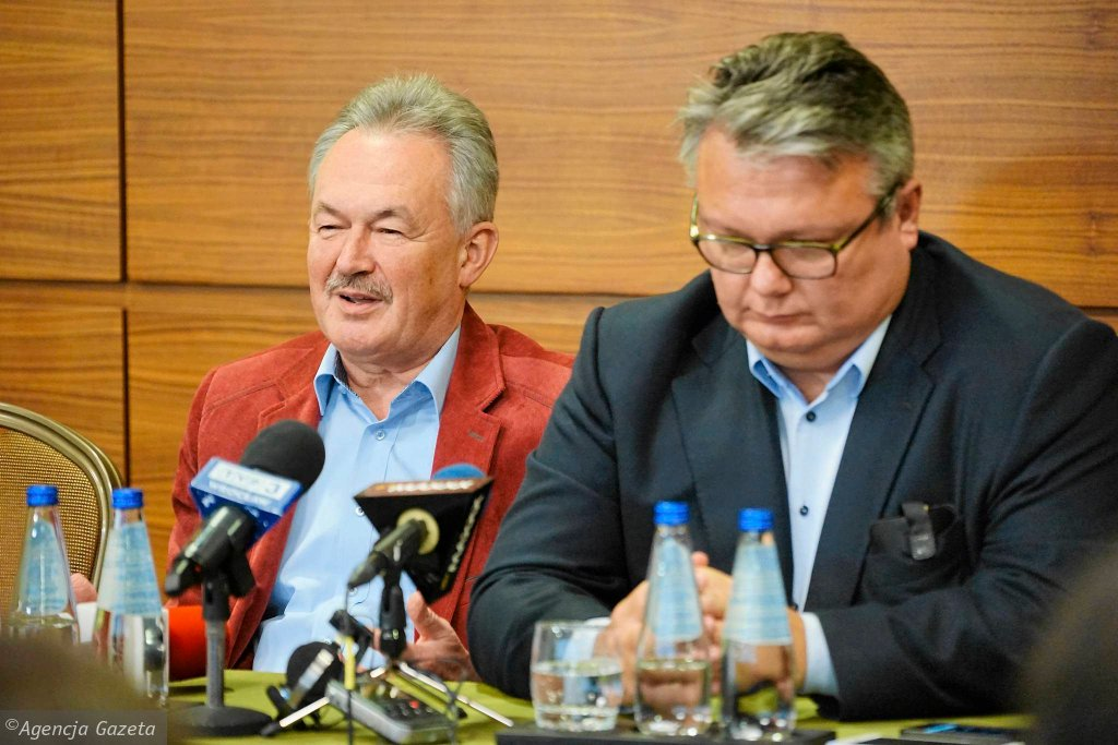 Przedstawiciele Konsorcjum Stanisław Han i Rafał Holanowski