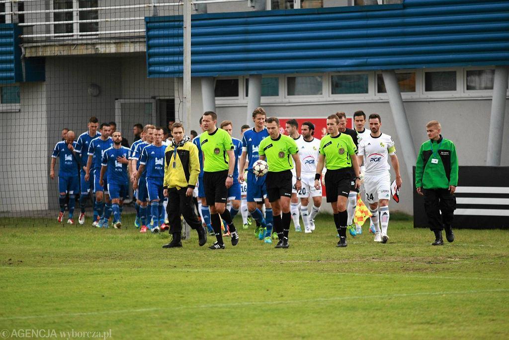 Piłka nożna, I liga. Wisła Płock - GKS Bełchatów 1:0