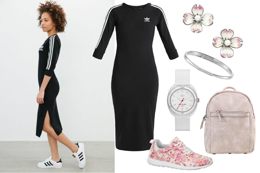 Sportowe sukienki Adidas / mat. partnera