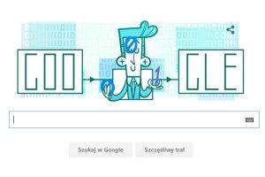 Claude E. Shannon - wielki matematyk - bohaterem Google Doodle.