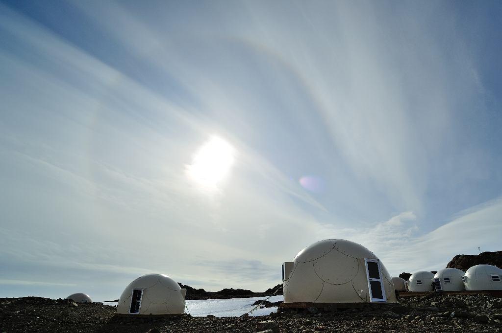 White Desert, nietypowy hotel na Antarktydzie
