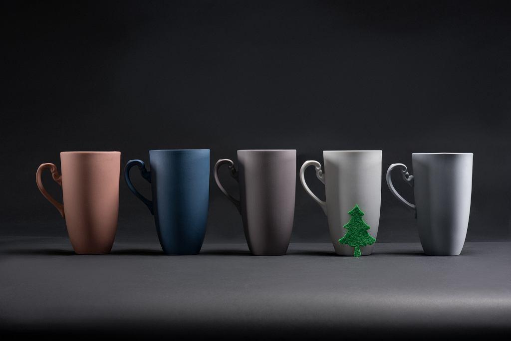 Kubki z kolekcji Nectar - Ćmielów Design Studio
