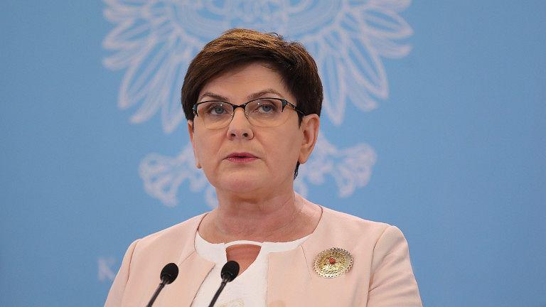 Beata Szydło, premier RP