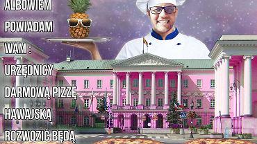 Paweł Tanajno chce wystartować w wyborach na prezydenta Warszawy (mat. wyborcze).