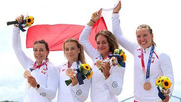 Tokio 2020. Kajakarki multimedalistki! Czwórka z Anną Puławską ma brązowy medal!