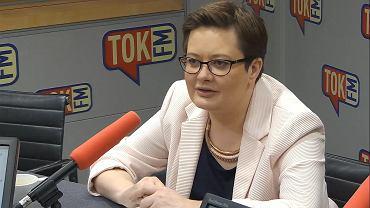 Katarzyna Lubnauer, przewodnicząca Nowoczesnej, w studiu Radia TOK FM.