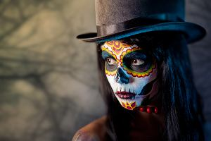 Makijaż na Halloween 2019 - jak i czym go wykonać? Gdzie szukać inspiracji?