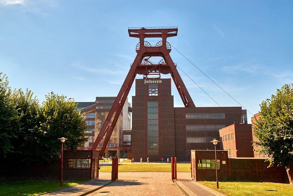 Essen, dawna kopalnia Zollverein