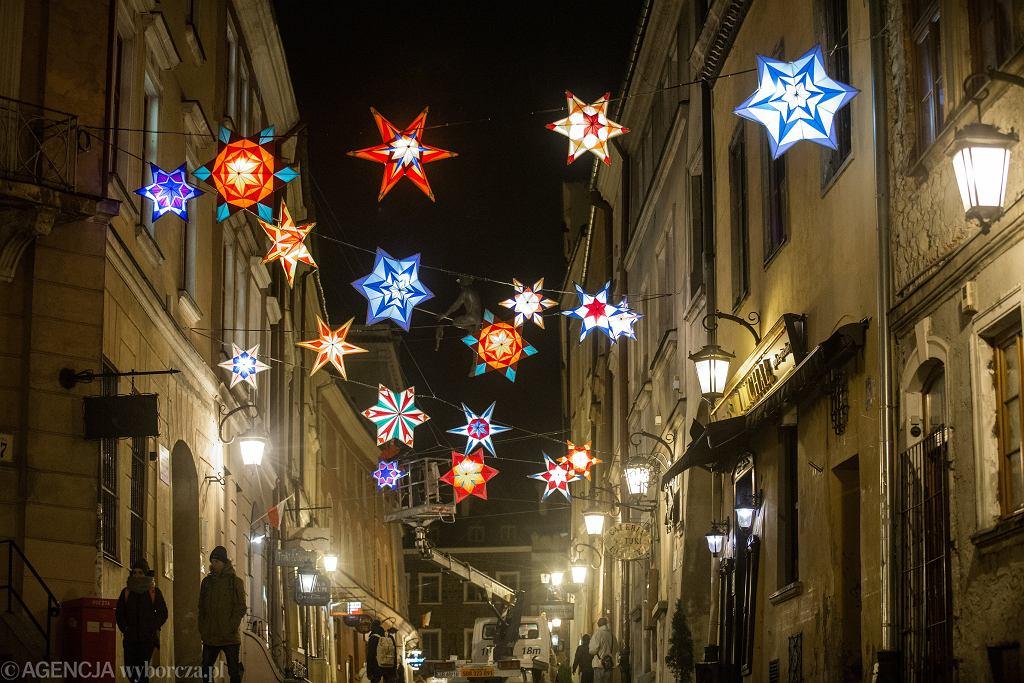 Boże Narodzenie. Dekoracje świąteczne w Lublinie