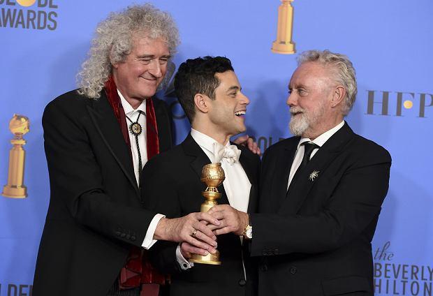 76. gala wręczenia Złotych Globów - Rami Malek i zespół Queen