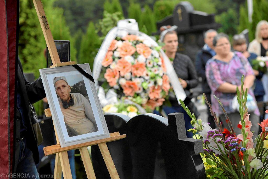 Pogrzeb Bartosza Sokołowskiego