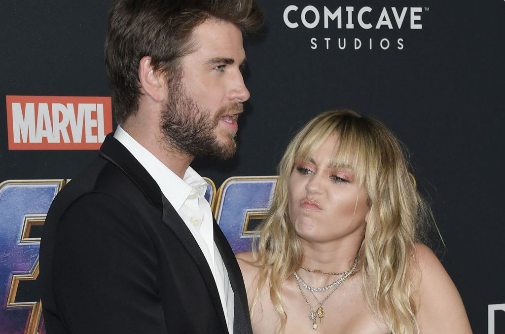 Miley Cyrus i Liam Hemsworth