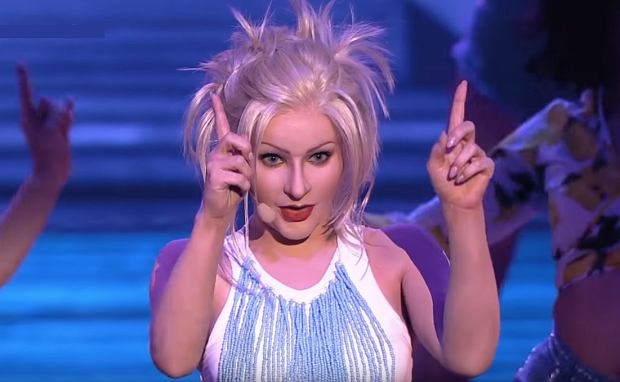 Your Face Sounds Familiar - Ewelina Lisowska as Christina Aguilera - Twoja Twarz Brzmi Znajomo